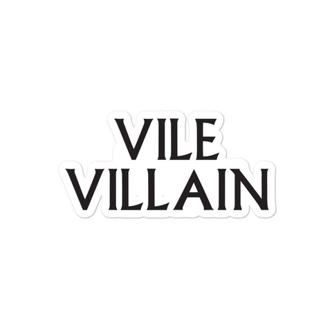 DIMENSION 20 Vile Villain Sticker