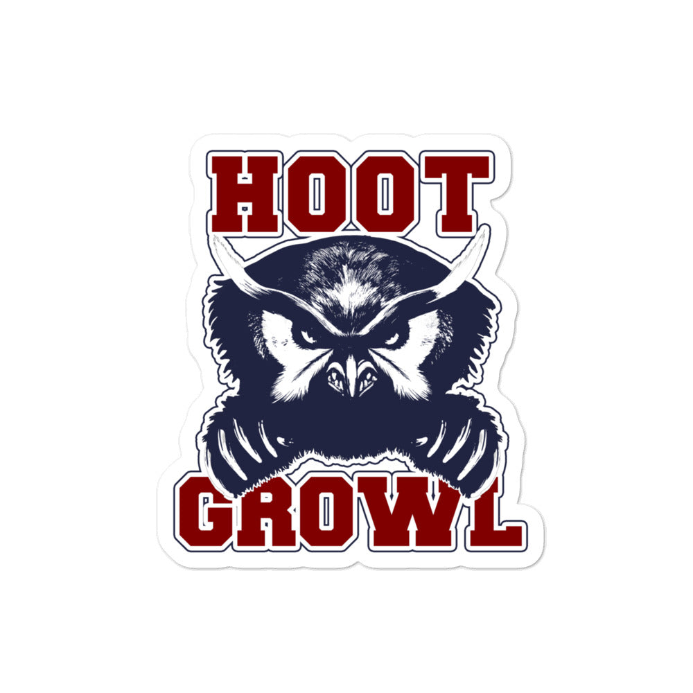 Dimension 20 Fantasy High Hoot Growl Sticker