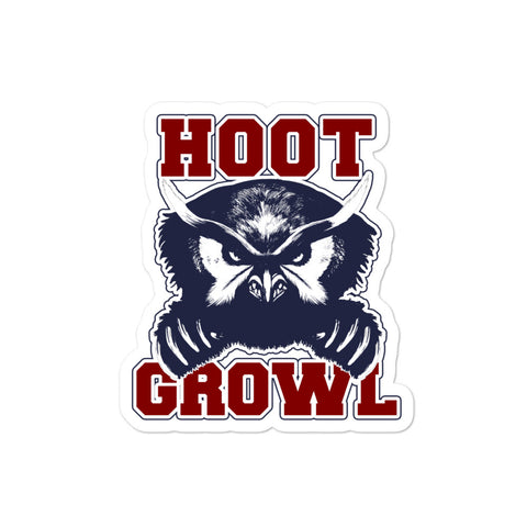 "DIMENSION 20: Fantasy High ""Hoot Growl!"" Sticker"