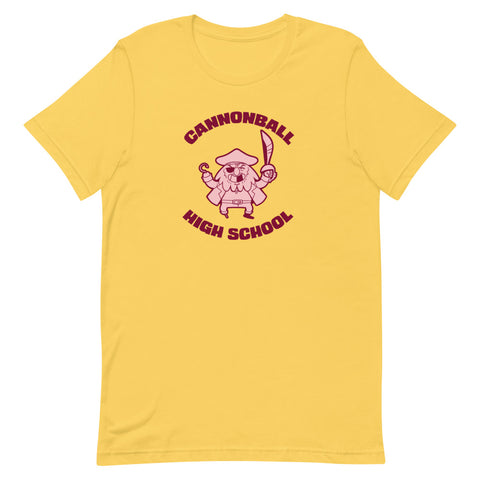 Dimension 20 Pirates of Leviathan Cannonball High School T-Shirt