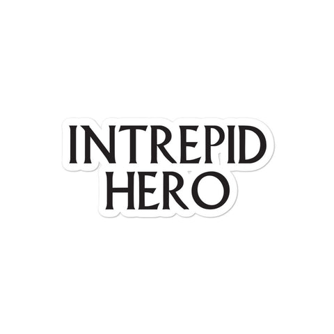 DIMENSION 20 Intrepid Hero Sticker