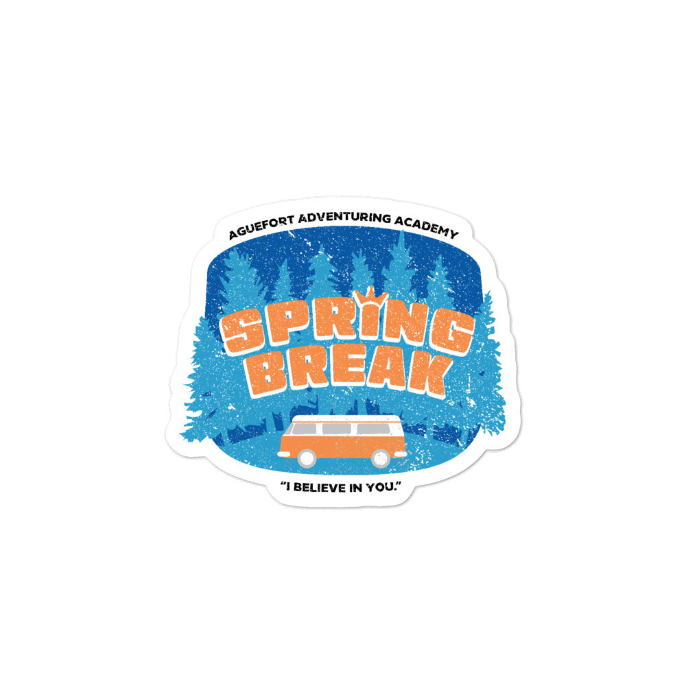 Dimension 20 Fantasy High Spring Break Sticker