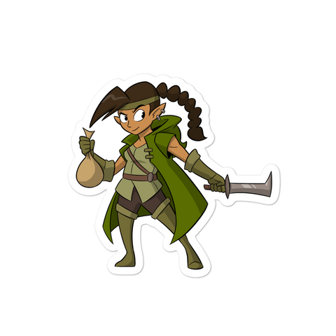 DRAWGA Legzi Sticker