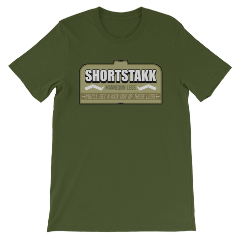 DRAWGA Legzi Shortstakk Tee