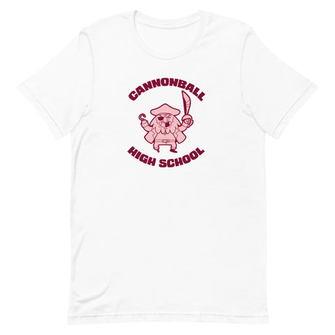 DIMENSION 20 - PIRATES OF LEVIATHAN: Cannonball High School Tee