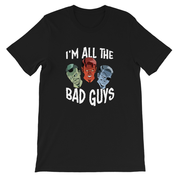 Dimension 20 I'm All The Bad Guys T-Shirt