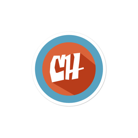 COLLEGEHUMOR Logo Sticker