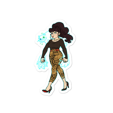 Dimension 20 The Unsleeping City Sofia Character Sticker