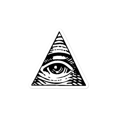 COLLEGEHUMOR Illuminati Sticker