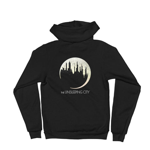 DIMENSION 20: The Unsleeping City Logo Zip Hoodie