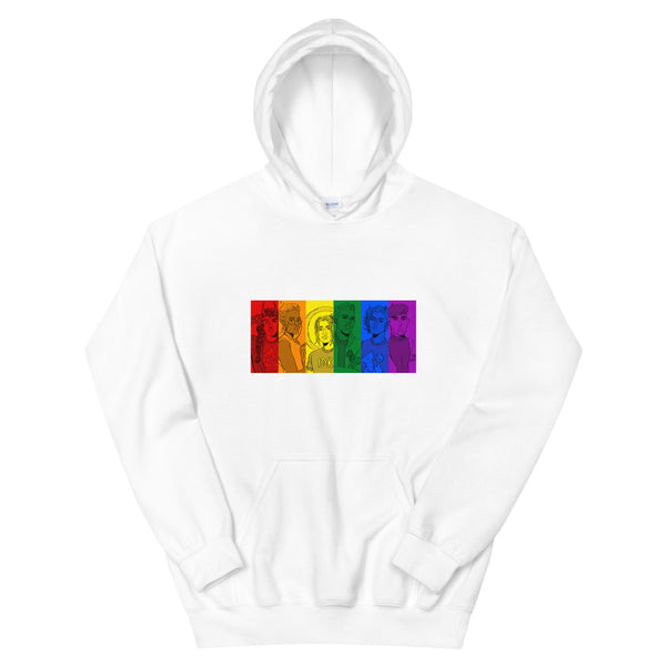 Dimension 20 Fantasy High Pride Hoodie