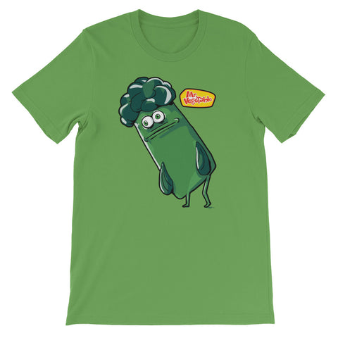 COLLEGEHUMOR Illustrated Mr. Vegetable Tee