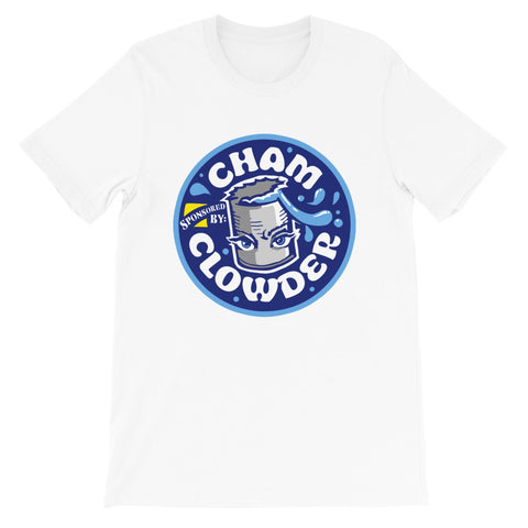 DRAWFEE VARIETY HOUR Cham Clowder Tee, Big Nasty Blue