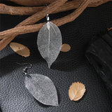 """Trembling Leaves"" Natural Leaf Drop Earrings"