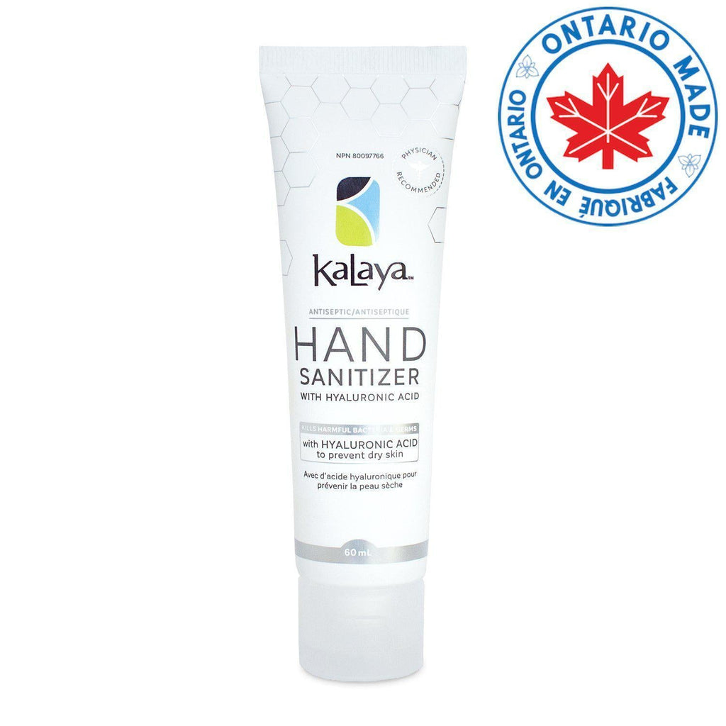 Kalaya Antiseptic Hand Sanitizer with Hyaluronic Acid 60ml | Antiseptique pour les mains 60 ml-Personal Care-Kalaya