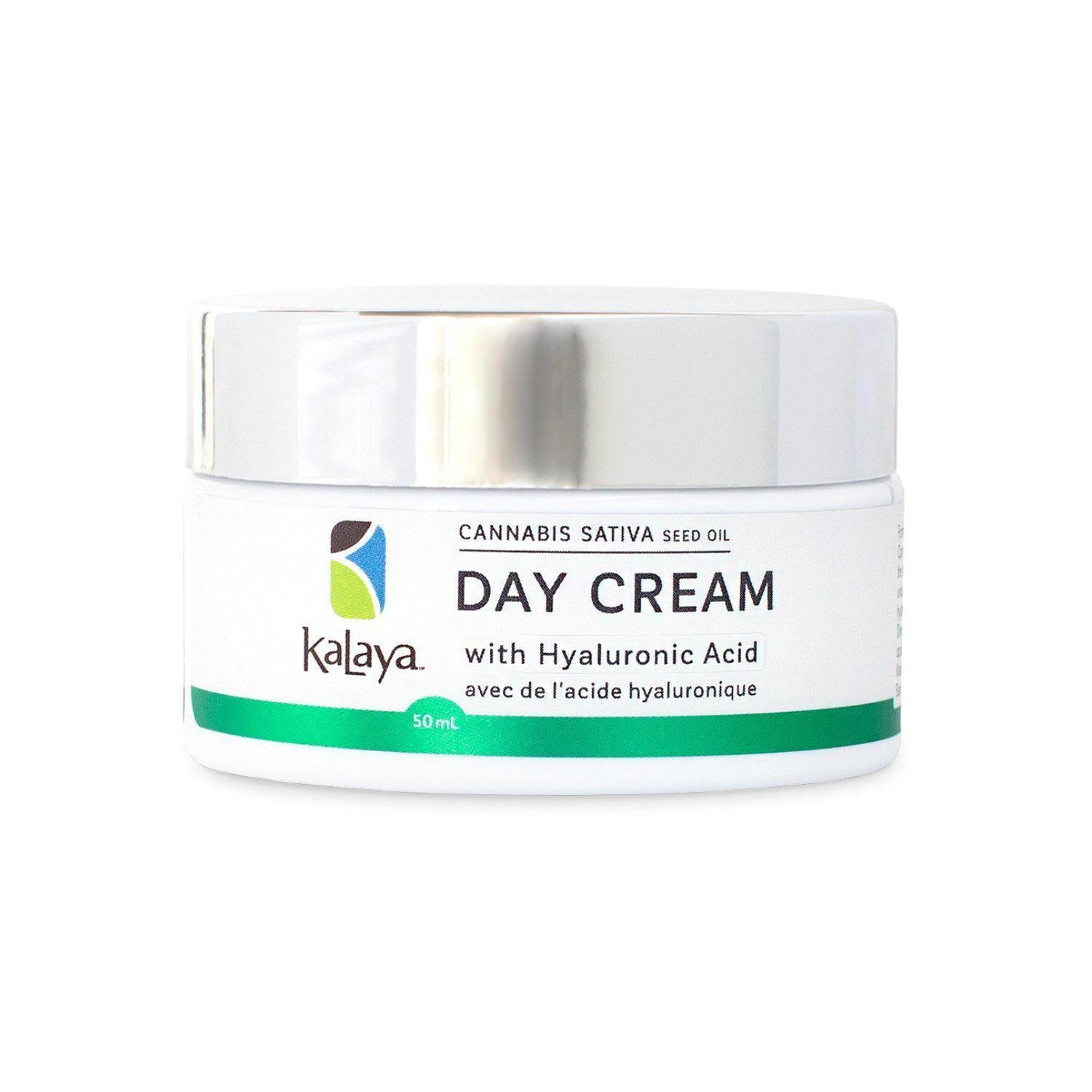 Kalaya Cannabis Sativa Seed Oil Day Cream | Crème de jour à l'huile de graines de cannabis sativa-Skin Treatment-Kalaya