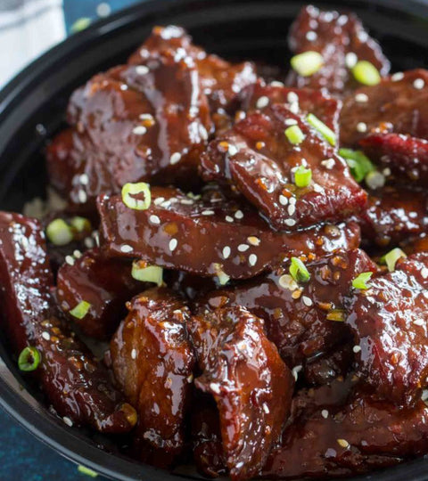 Sticky Fermented Garlic Honey Beef