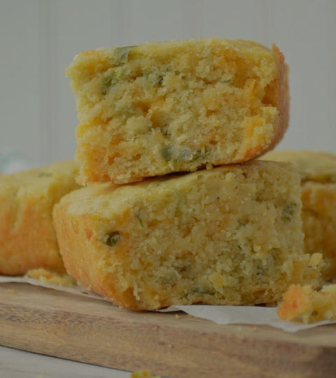 Jalapeno Honey Butter & Cornbread
