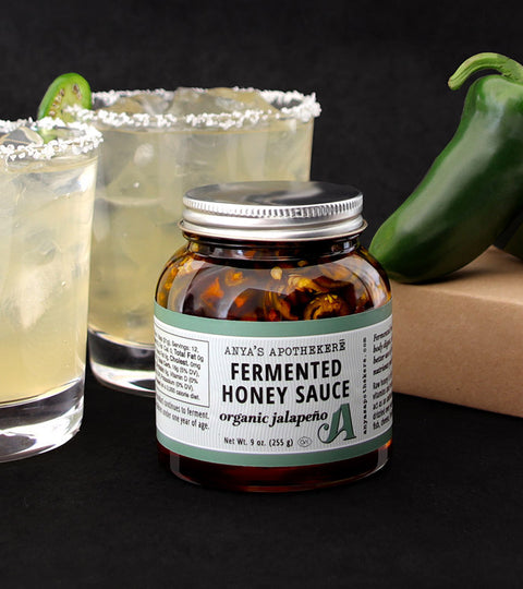 Jalapeno Honey Margaritas