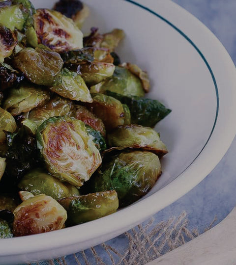 Fermented Garlic Honey Brussel Sprouts