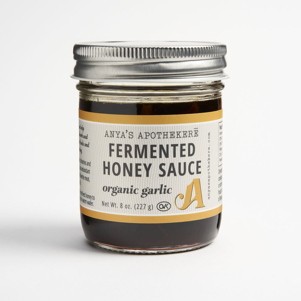 Gourmet Fermented Honey Sauce - Organic Garlic