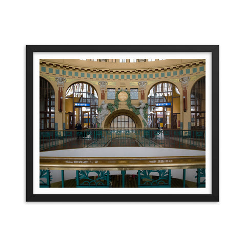 """Main Railway Station"" 16x20, matte"