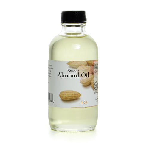 Sweet Almond Oil - 4 oz. - Alkebulan Lifestyle