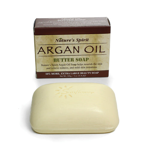 Argan Oil & Shea Butter Soap - 5 oz. - Alkebulan Lifestyle