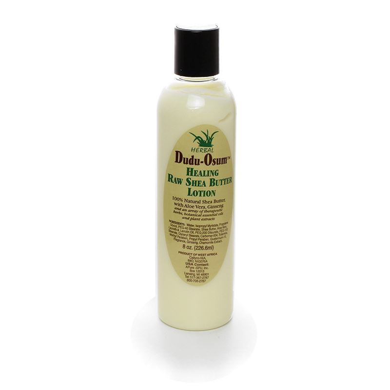 Dudu-Osum Healing Raw Shea Lotion - 8oz - Alkebulan Lifestyle