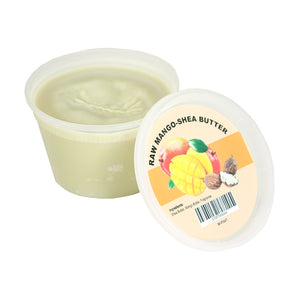 Raw Mango-Shea Butter - 8 oz - Alkebulan Lifestyle