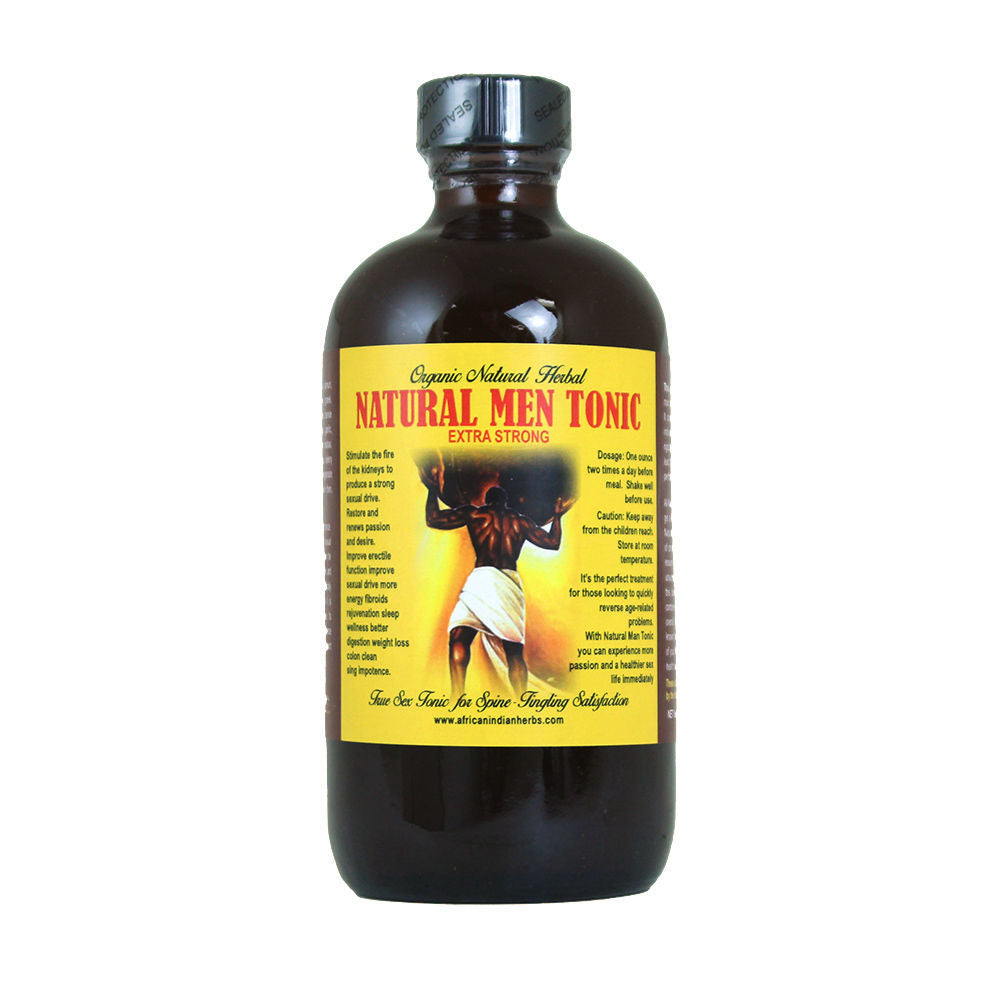 Natural Men Tonic - 8oz - Alkebulan Lifestyle