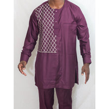 Nusu - Men's Suit - Alkebulan Lifestyle
