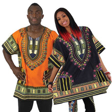 Dashiki Traditional Printed Tops 100% cotton - Unisex