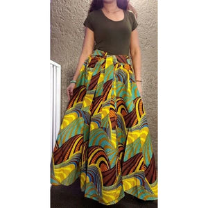 Long Maxi Skirt - One Size Fits Most - S-3XL