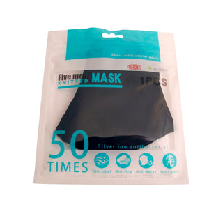 Antibacterial Silver ion resusable cotton mask