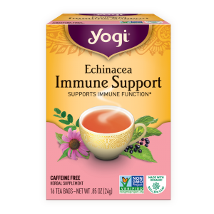 Yogi® Echinacea Immune Support Tea