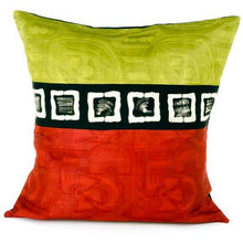 Bogolan and Cotton Pillow from Mali with Insert - Alkebulan Lifestyle