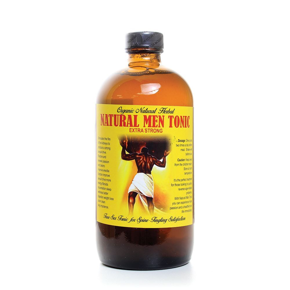 Organic Natural Men Tonic - 16 oz. - Large