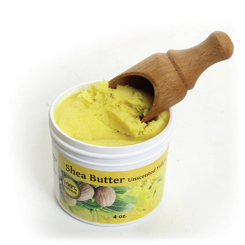 Shea Butter - Unscented - 4oz - Alkebulan Lifestyle