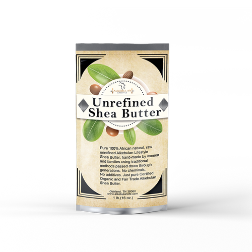 Unrefined Shea Butter 8oz Or 16 oz