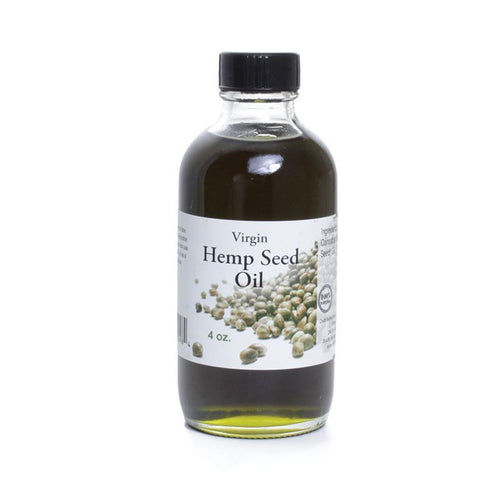 Virgin Hemp Seed Oil - 4oz - Alkebulan Lifestyle