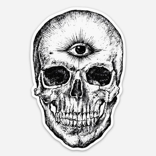 """THIRD EYE"" STICKER"
