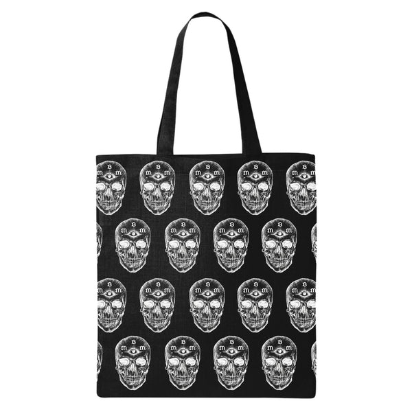 THIRD EYE SKULL TOTE BAG