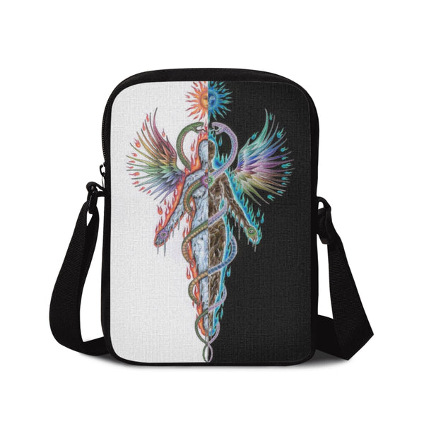 BODY OF FIRE SOUL OF ICE SHOULDER BAG