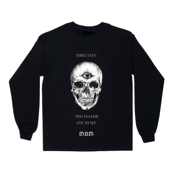 THIRD EYE SKULL LONG SLEEVE