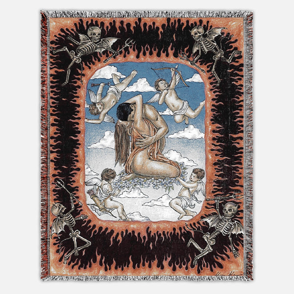 """You Help Me Find The Heaven In My Hell"" Blanket"