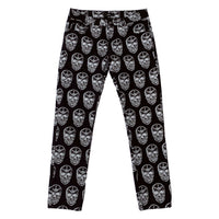 SKULL THIRD EYE DENIM PANTS
