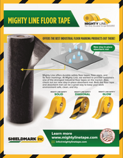 Peel and Stick Heavy Duty Absorbent Floor Mat