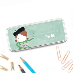 Mama + Max Cotton Twist Personalised Pencil Tin