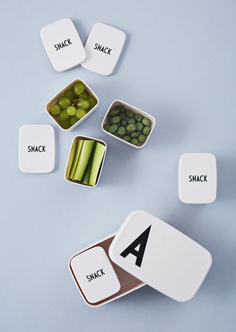 Design Letters Snack Box